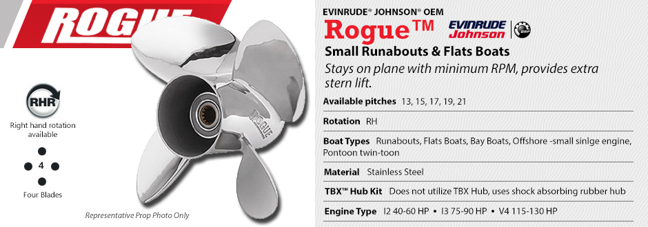 Rogue™ : Boat Propeller Warehouse