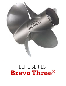 Click to Shop Mercury Bravo Three Propellers