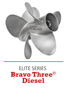 Click to Shop Mercury Bravo Three Diesel Propellers