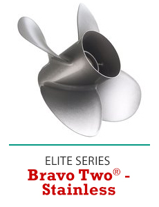 Click to Shop Mercury Bravo Two Stainless Propellers
