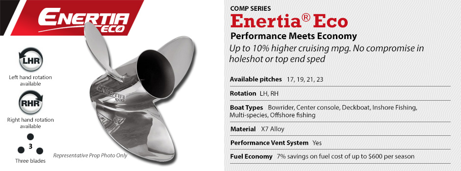 Mercury Enertia Eco Propeller