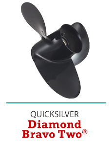 Click Here to Shop Quicksilver Diamond Bravo Two Propellers