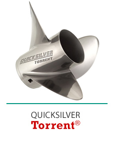 Click Here to Shop Quicksilver Torrent Propellers