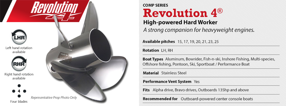 Mercury Revolution 4 Propellers