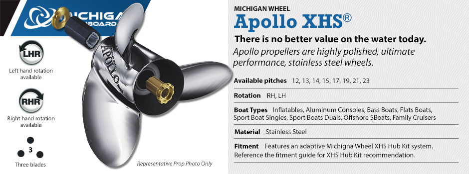 Michigan Wheel - Apollo XHS Propellers