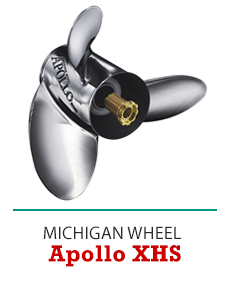 Click to Shop Michigan Wheel® Apollo XHS Propellers