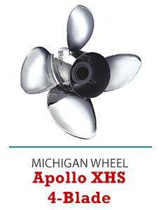 Click to Shop Michigan Wheel Apollo XHS 4-Blade Propellers